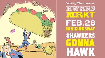 Hawkers Market #Vancouver February 28th...