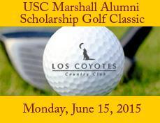 USC Marshall Alumni 19th Scholarship Golf Classic 2015