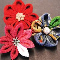 Japanese Kanzashi flowers