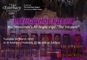 Rachmaninov's All-Night Vigil