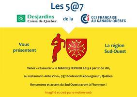 5@7 de la Chambre de commerce française de Québec -...