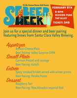Santa Clara Valley Brewing Dinner