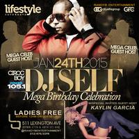 DJ Self (Power 105.1) Celebrity Birthday Celebration...