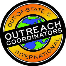 Outreach Coordinators for International & Out-Of-State Students logo