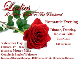 Ladies - Your Night To Be Pampered