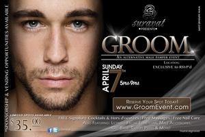 GROOM.| An Alternative Male Pamper Event