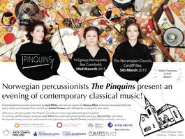 Pinquins Percussion Trio and Jack White