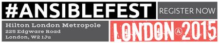 AnsibleFest London 2015