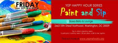 YEP Happy Hour Series: Paint and Sip