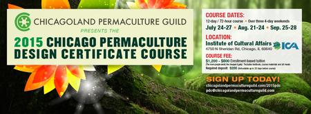 2015 Chicago Permaculture Design Certificate Course