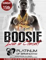 BOOSIE Live at Platinum of Birmingham