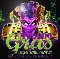 CLT Voodoo Gras...Light Rail Crawl...Get Crawlin' Like...