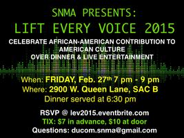 Lift Every Voice 2015