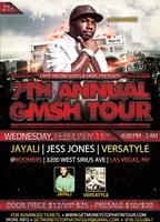 Hype Wednesday's Present's the G$SH Tour at Boomer's...