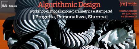 Workshop di Design Parametrico e Stampa 3D _ Morbin