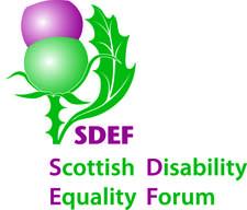 Scottish Disability Equality Forum logo
