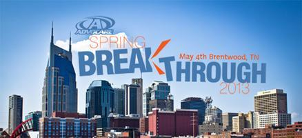 Spring Breakthrough 2013