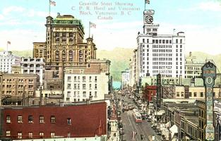 Heritage Week Walking Tour: Granville Street – Then...