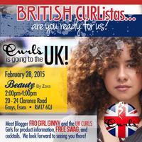 CURLS in the UK!!!