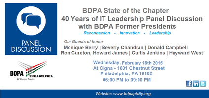 BDPA State of the Chapter - 40 Years of IT Leadership...