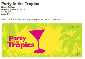 GPSG's Presents Party in the Tropics
