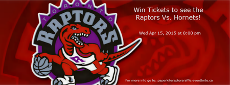 Raffle to Win Raptor Tickets or Gift Certificate for In...