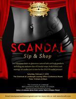 Scandal Sip & Shop