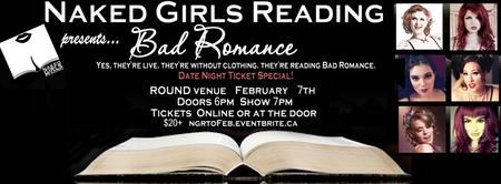 Naked Girls Reading Presents: Bad Romance! at ROUND