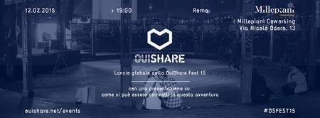 OuiShare Fest 15 Global Kick-off Roma