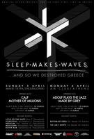 sleepmakeswaves live in Thessaloniki