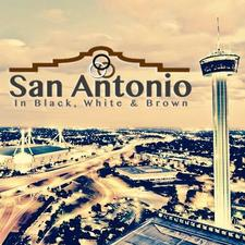 San Antonio In Black, White & Brown Team logo