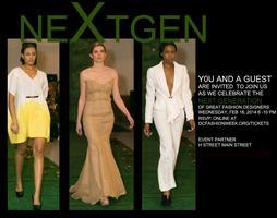 DC Fashion Week Opening Night at H Street  (NEXTGEN...