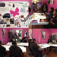 """Permission to Jump"" Vision Board Social!"