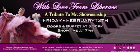 With Love From Liberace, A Tribute To Mr. Showmanship...