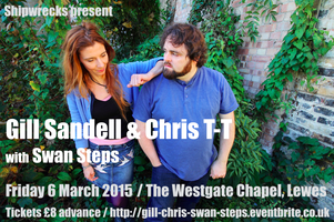 Gill Sandell & Chris T-T with Swan Steps
