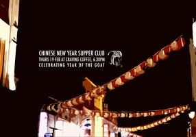 Chinese New Year Supper Club at Craving Coffee