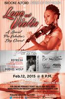 "Brooke Alford, Artist of the Violin presents ""LOVE and..."
