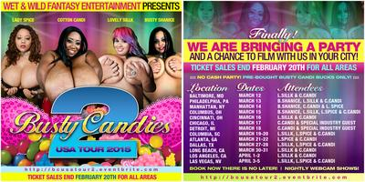 BUSTY CANDIES USA TOUR 2