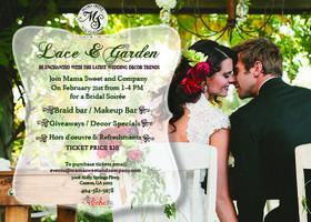 "Lace & Garden ""Bridal Soiree"""