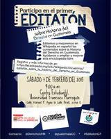 Editatón sobre Historia del Derecho en Guatemala
