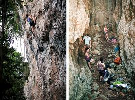 Puerto Rico - Rock Climbing, Boating & Night Life