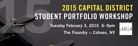 2015 AIGA Upstate NY Student Portfolio Building...