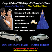LONG ISLAND WEDDING & SWEET 16 SHOW