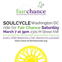 SoulCycle Ride for Fair Chance