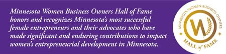 Minnesota Women Business Owners Hall of Fame 2015...