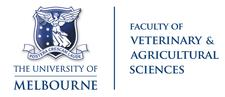 Faculty of Veterinary and Agricultural Sciences, University of Melbourne logo