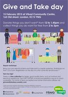 Give and Take day in Islington