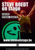 Steve Boedt on Stage