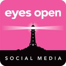 Eyes Open Social Media logo
