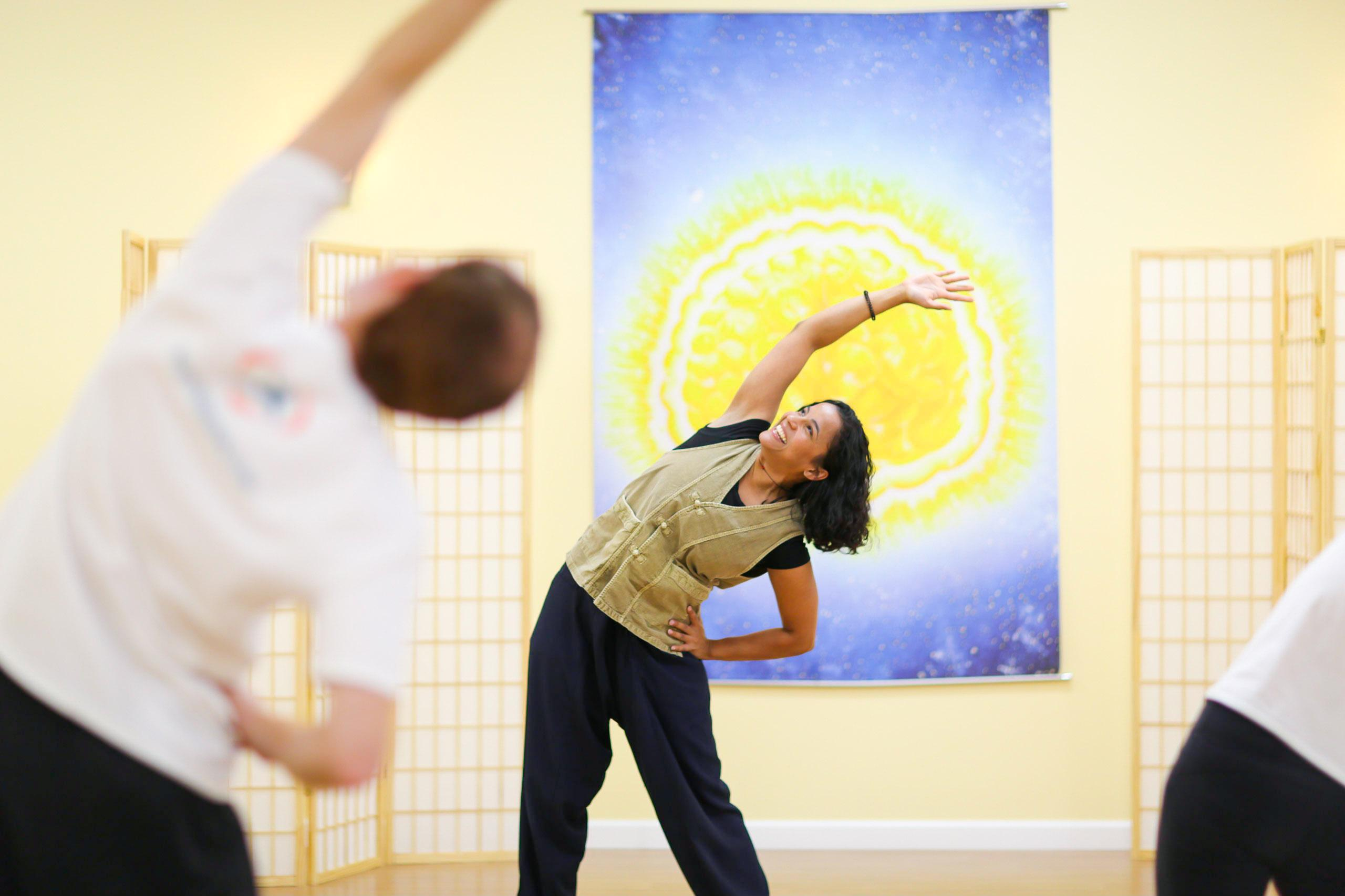 In-Studio Energy Yoga , Tai Chi and Meditation Classes